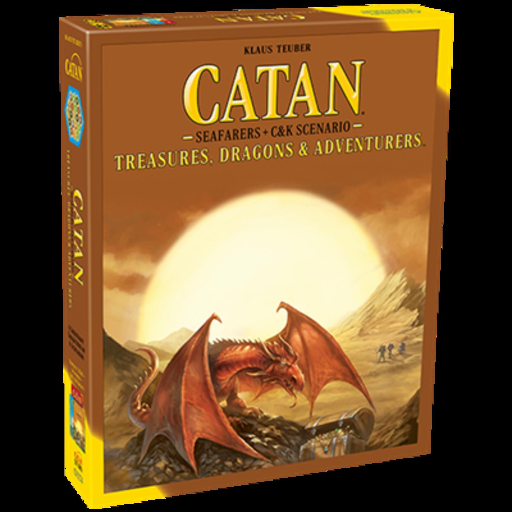 Catan Studios Catan: Treasures, Dragons, & Adventurers Scenario