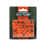 Games Workshop Warhammer 40k: Kill Team - Death Korps of Krieg Dice Set