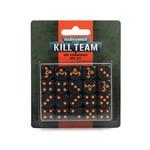 Games Workshop Warhammer 40k: Kill Team - Ork Kommandos Dice Set