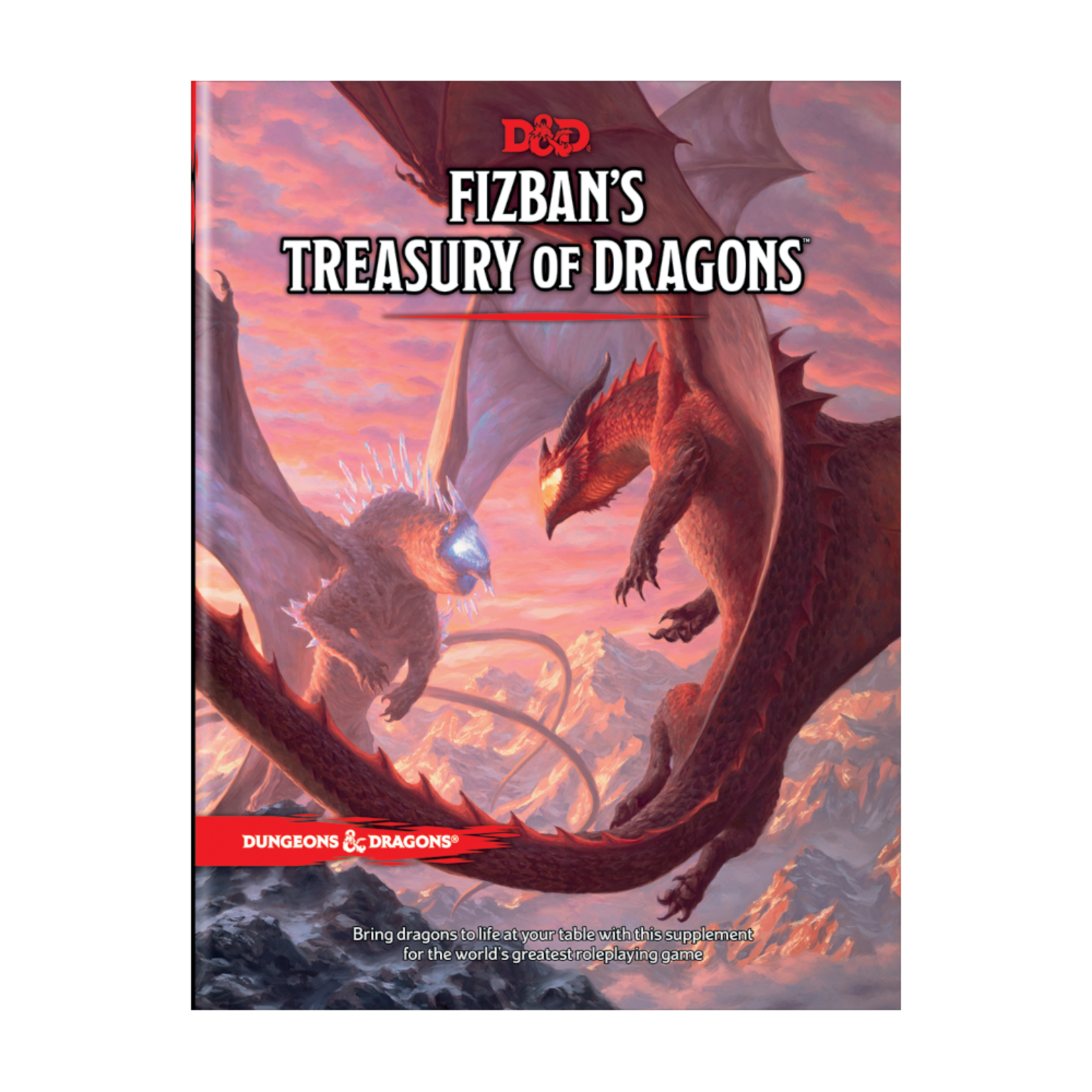 Wizards of the Coast Dungeons and Dragons Fifth Edition: Fizban's Treasury of Dragons Hardcover (Preorder)