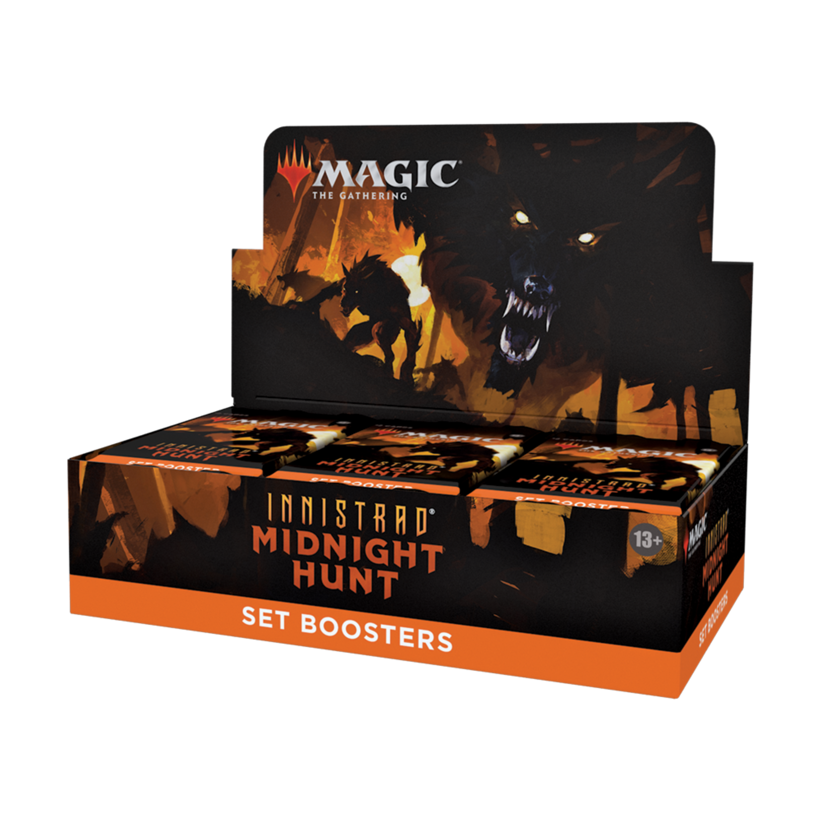 Wizards of the Coast Magic the Gathering: Midnight Hunt - Set Booster Box