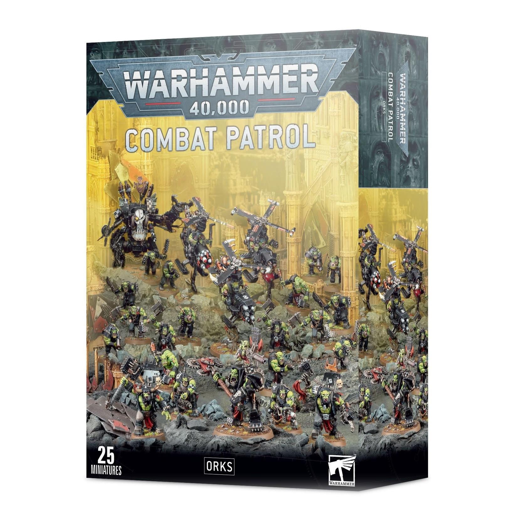 Games Workshop Warhammer 40k: Combat Patrol - Orks