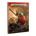 Games Workshop Warhammer Age of Sigmar: Battletome - Orruk Warclans