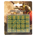 Games Workshop Warhammer Age of Sigmar: Orruk Warclans - Dice Set