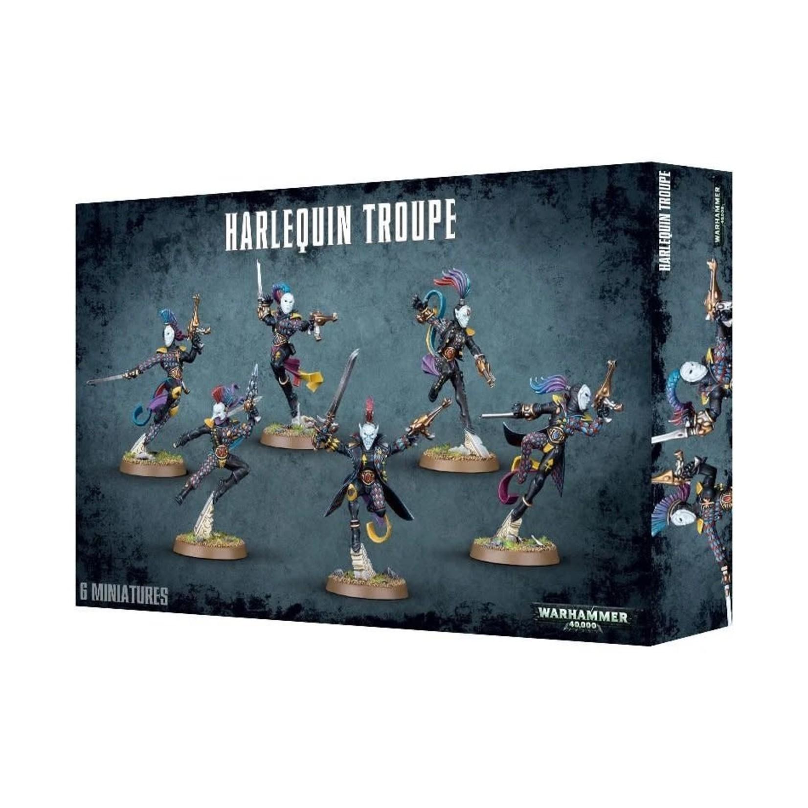 Games Workshop Warhammer 40k: Harlequin - Troupe
