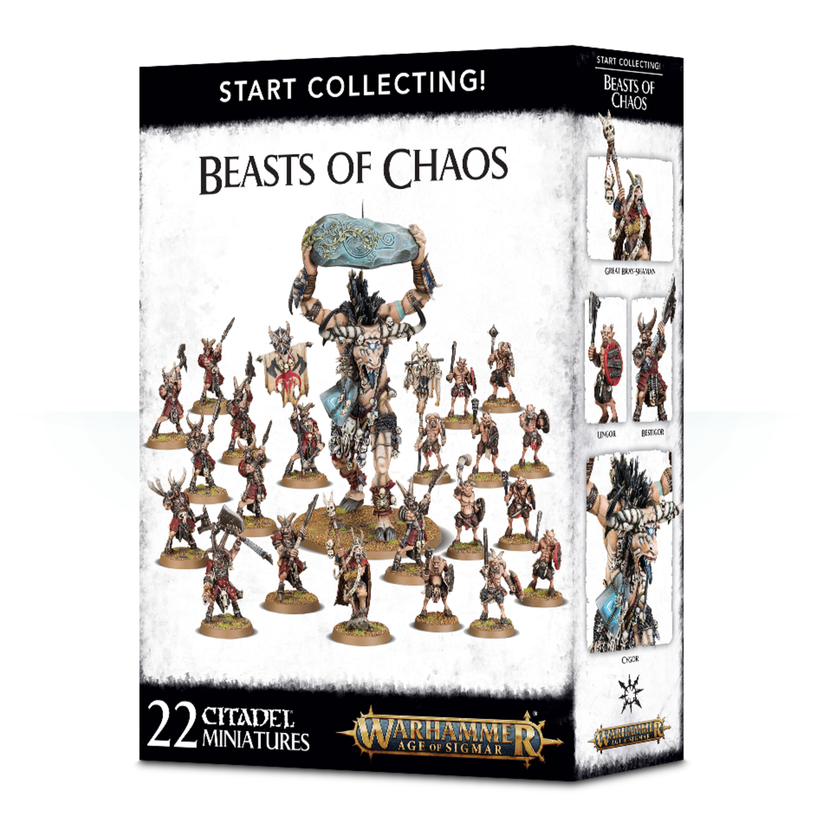 Games Workshop Warhammer Age of Sigmar: Start Collecting! Beasts of Chaos