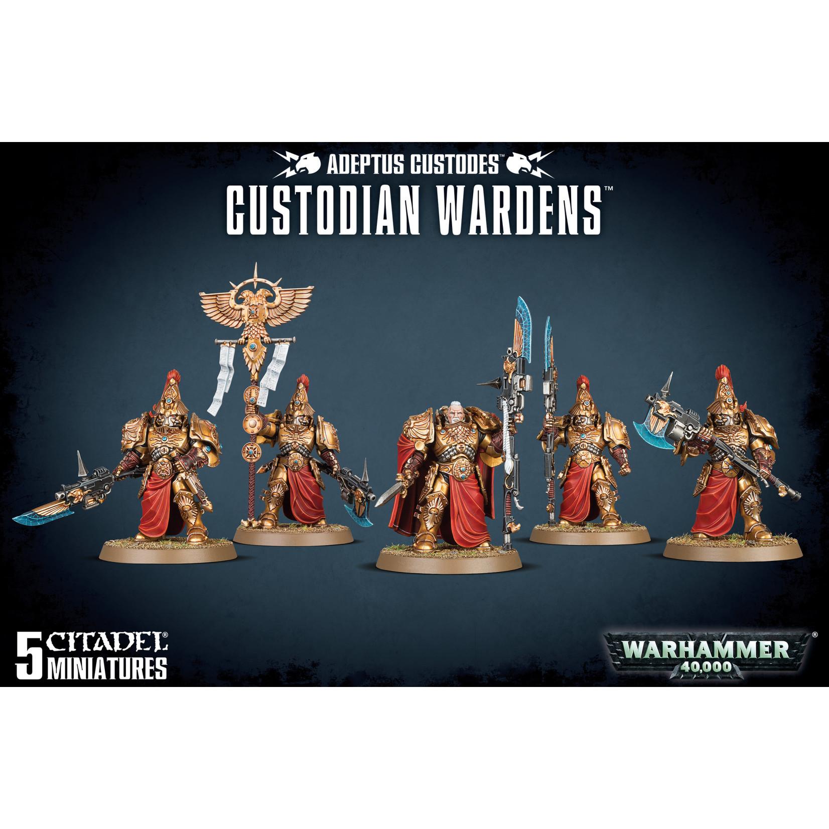 Games Workshop Warhammer 40k: Adeptus Custodes - Custodian Wardens