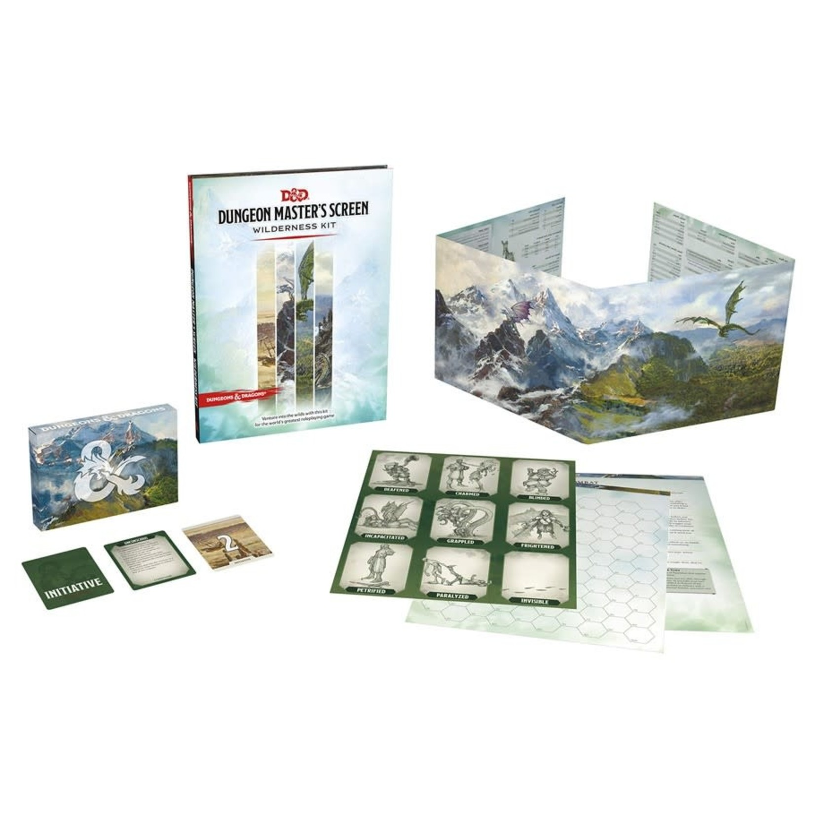 Wizards of the Coast Dungeons and Dragons Fifth Edition: DM Screen Dungeon Kit