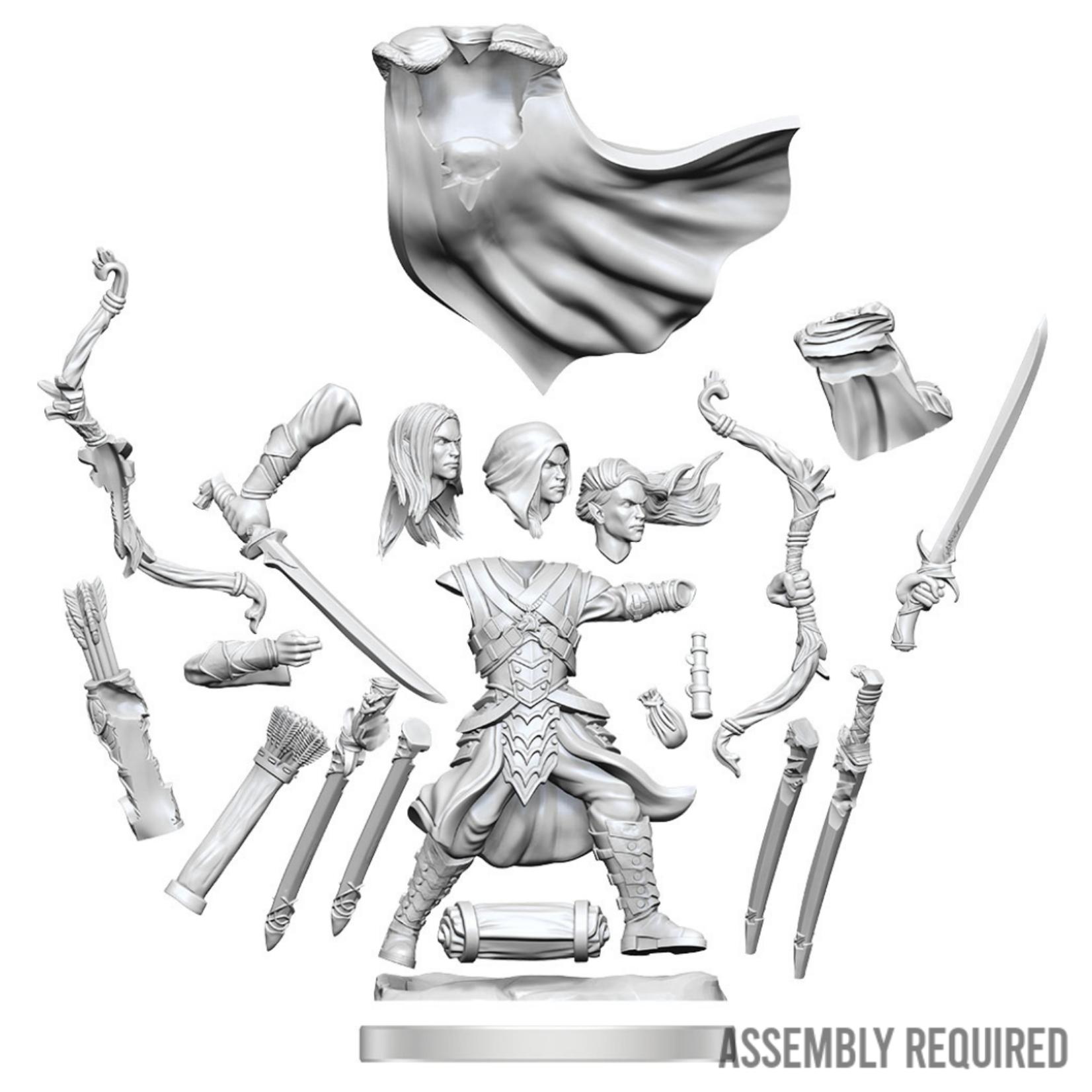 WizKids Wizkids Dungeons and Dragons Frameworks: Elf Ranger Male W01 (Preorder)