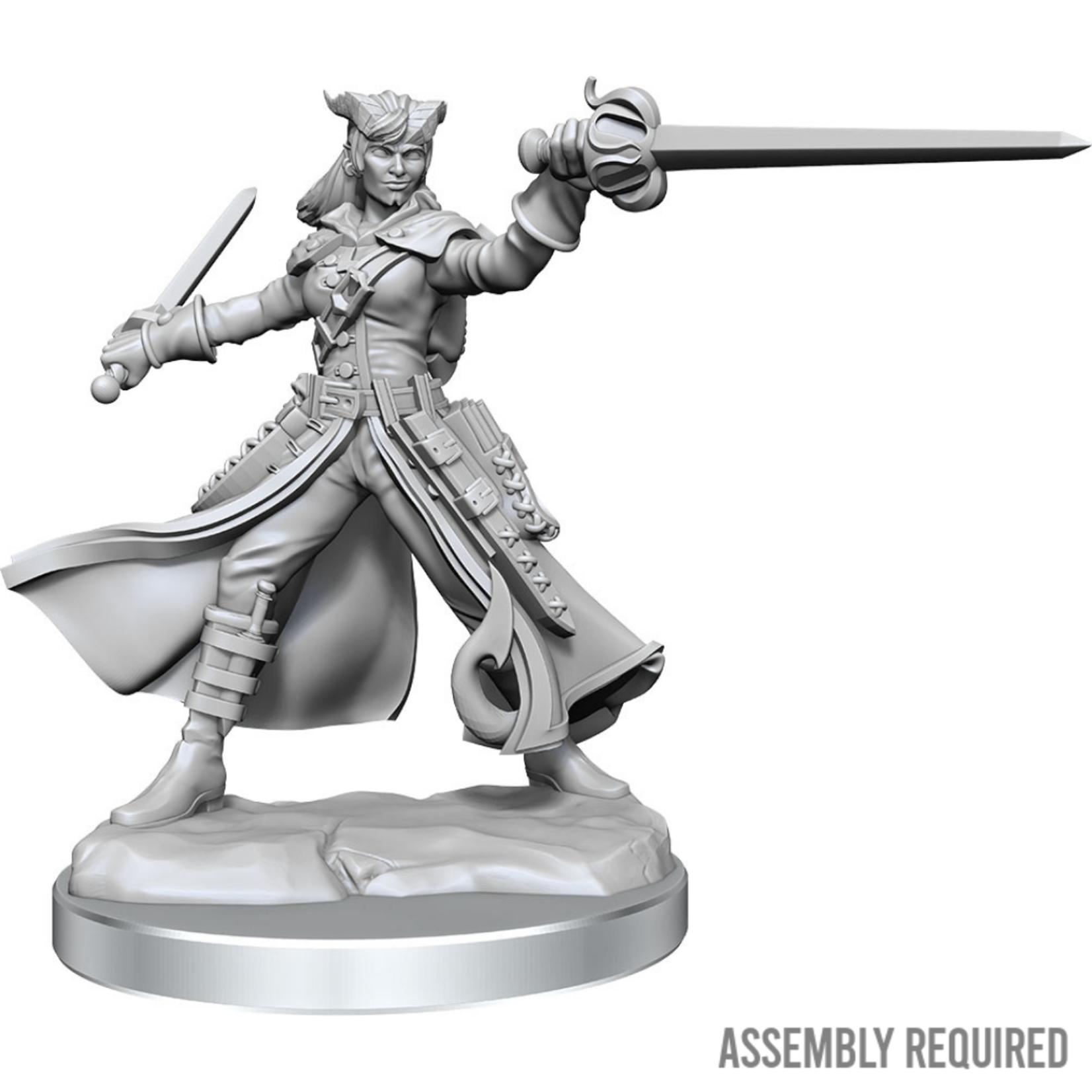 WizKids Wizkids Dungeons and Dragons Frameworks: Tiefling Rogue Female W01 (Preorder)