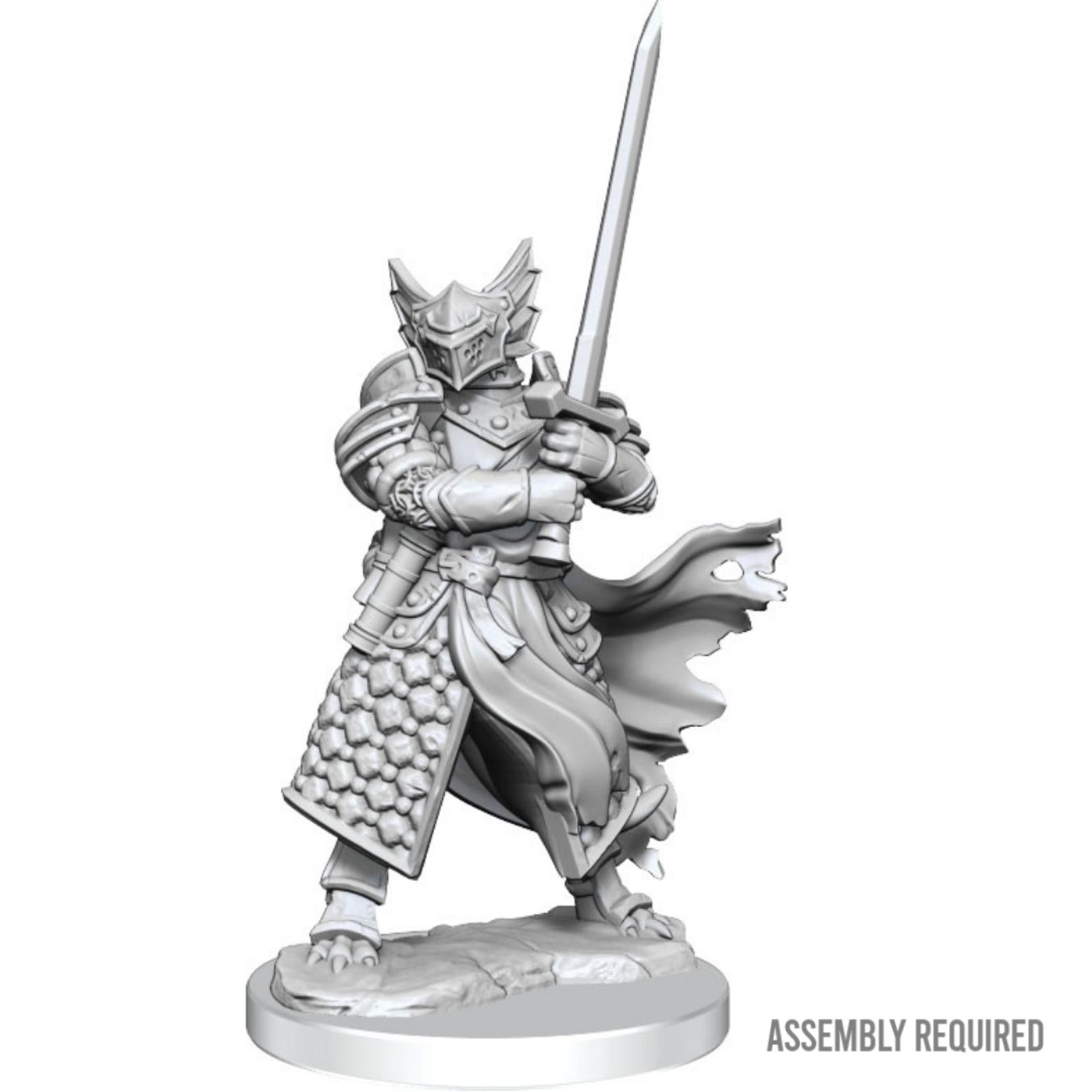 WizKids Wizkids Dungeons and Dragons Frameworks: Dragonborn Paladin Male W01 (Preorder)