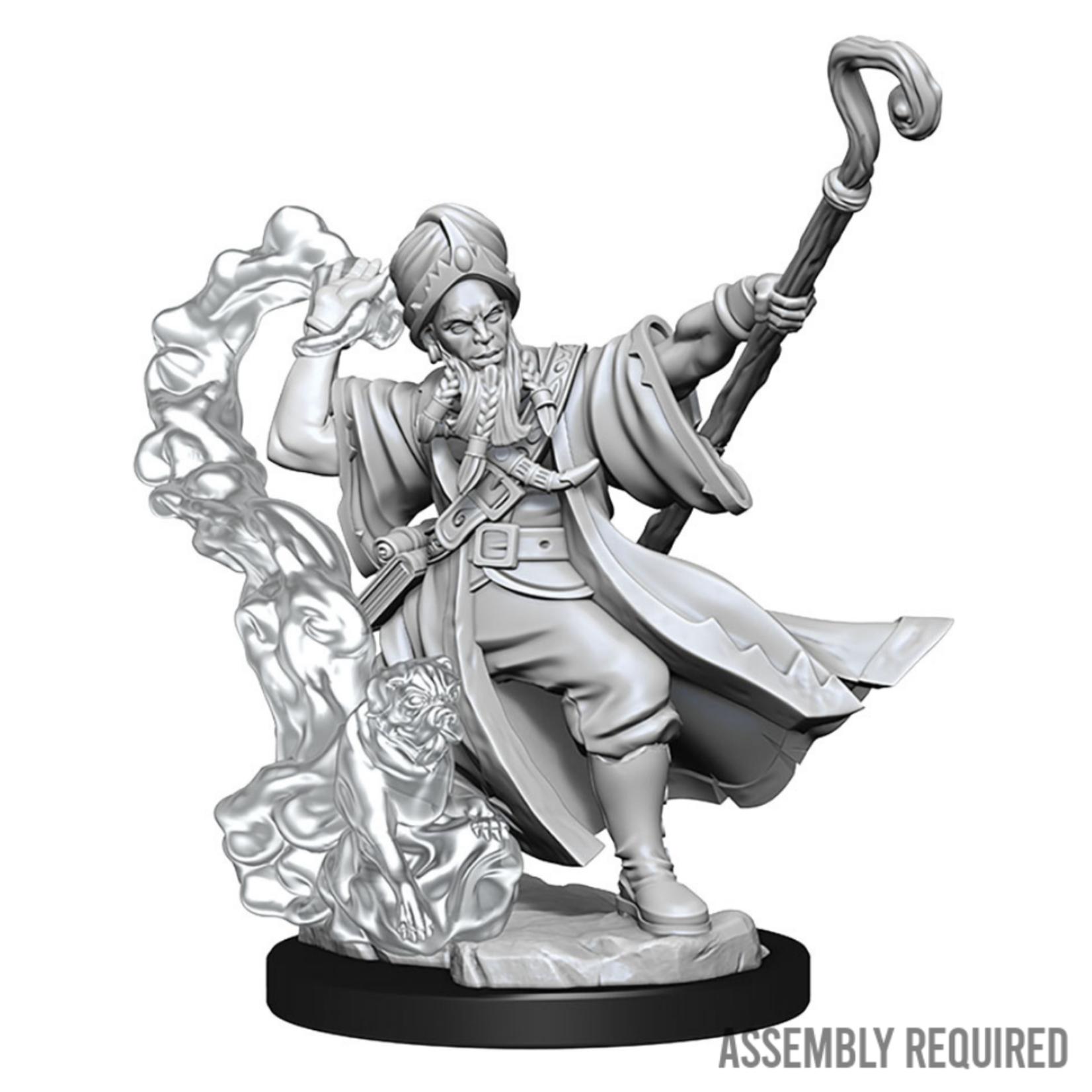WizKids Wizkids Dungeons and Dragons Frameworks: Human Wizard Male W01 (Preorder)