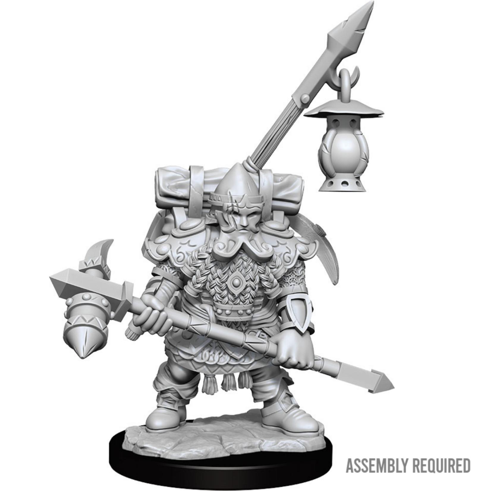 WizKids Wizkids Dungeons and Dragons Frameworks: Dwarf Fighter Male W01 (Preorder)