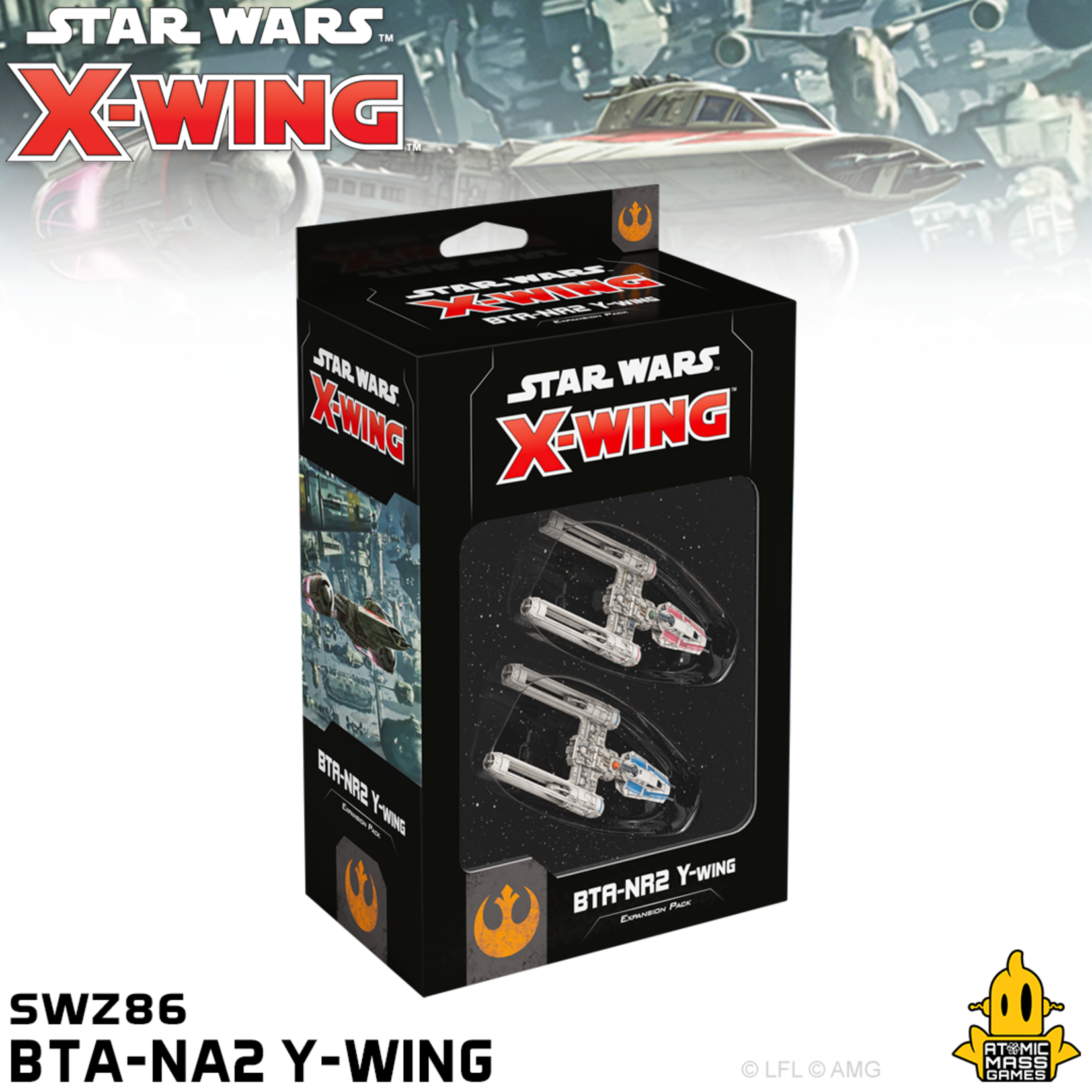 Atomic Mass Games Star Wars X-Wing: 2nd Edition - BTA-NR2 Y-Wing Expansion Pack