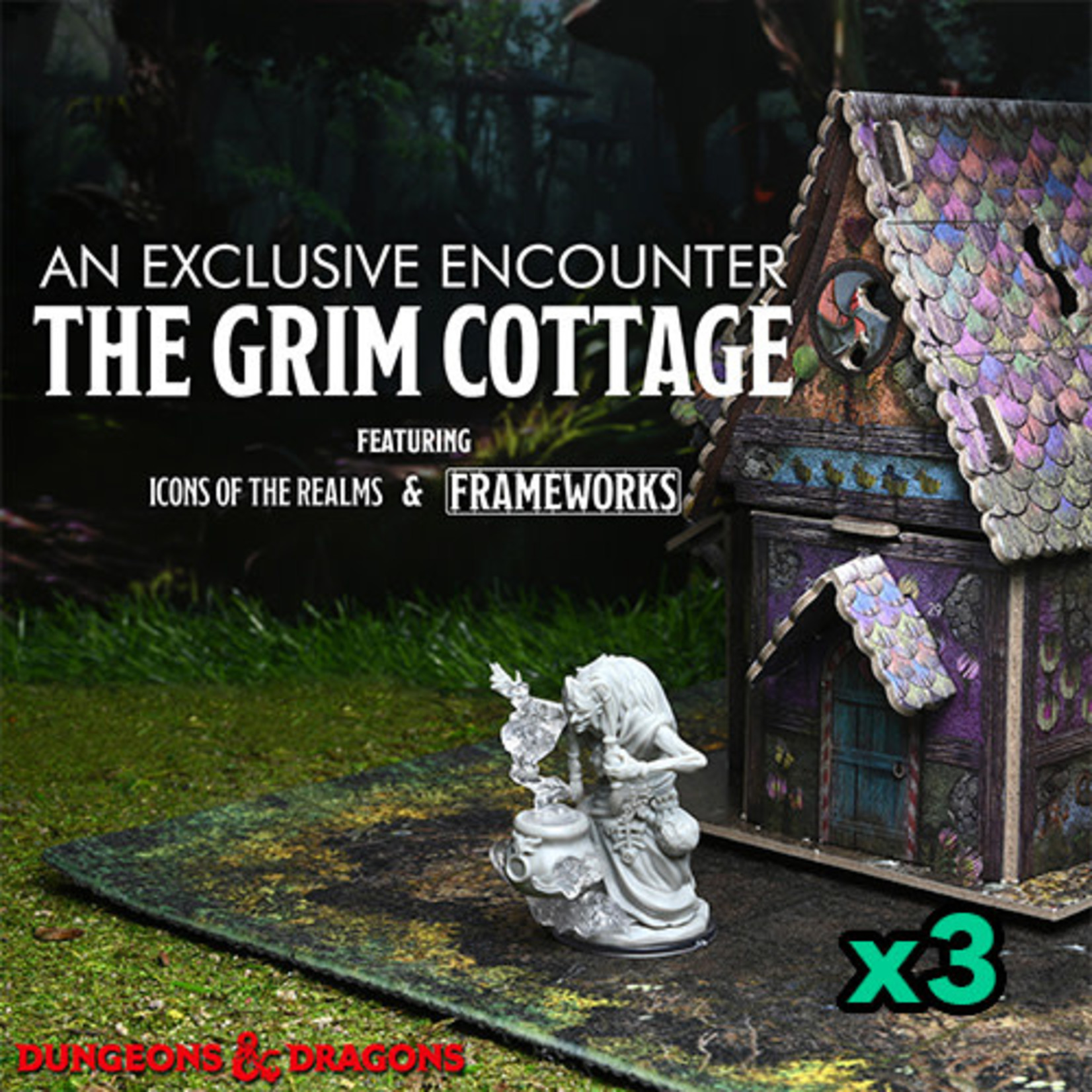 Fair Game Free RPG Day 2021 - The Grim Cottage (LG 2:30-5:30 PM)