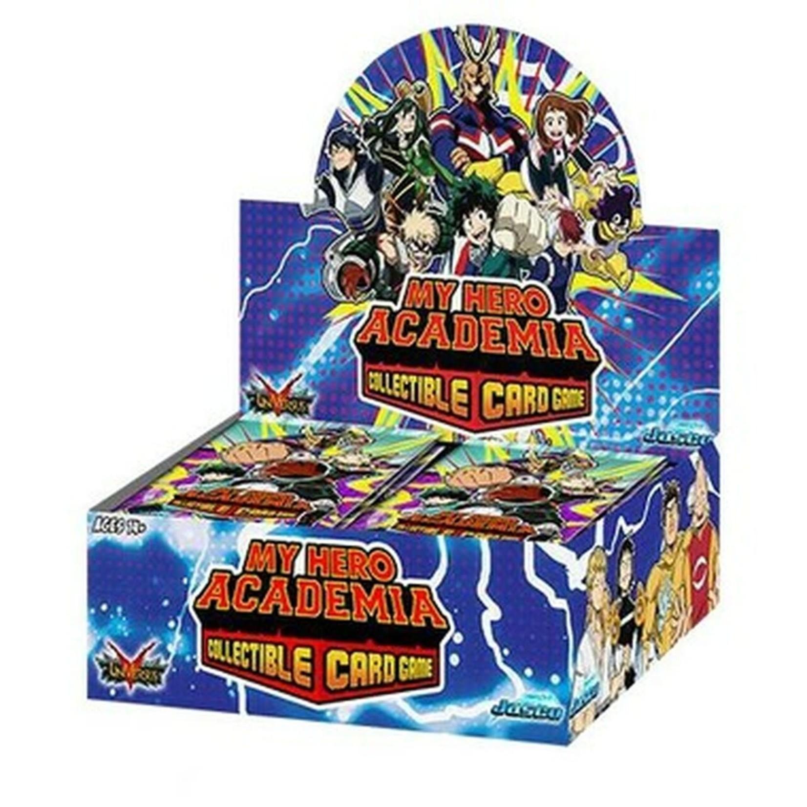 Jasco Games My Hero Academia CCG: 1st Ed Booster Box