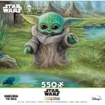 ceaco Ceaco - 550 Piece Puzzle: Thomas Kinkade - Baby Yoda