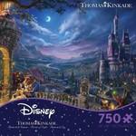 ceaco Ceaco - 750 Piece Puzzle: Thomas Kinkade Disney - Beauty