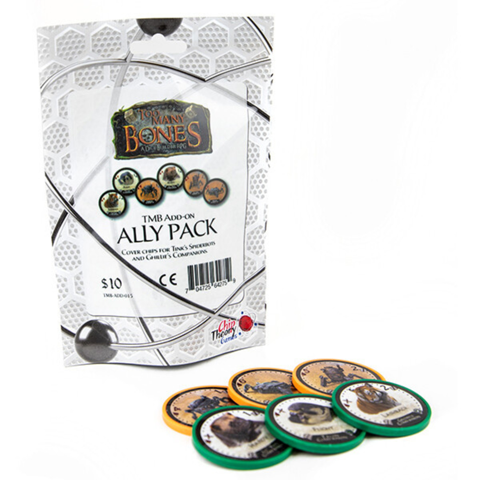 Chip Theory Games Too Many Bones: Ally Pack