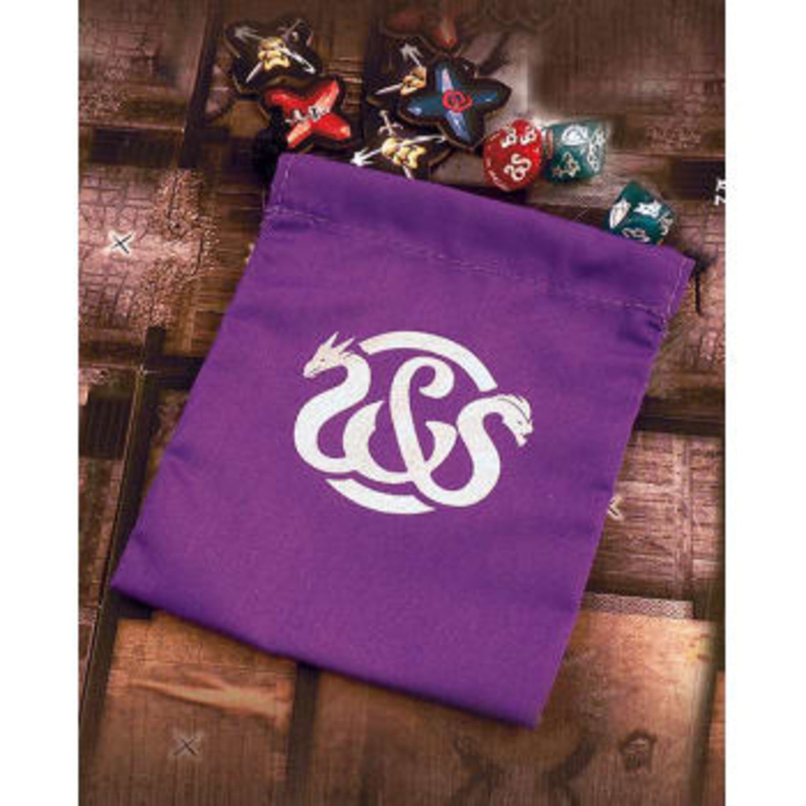Ares Games Dice Bag: Sword and Sorcery: Critical Hits (Purple)