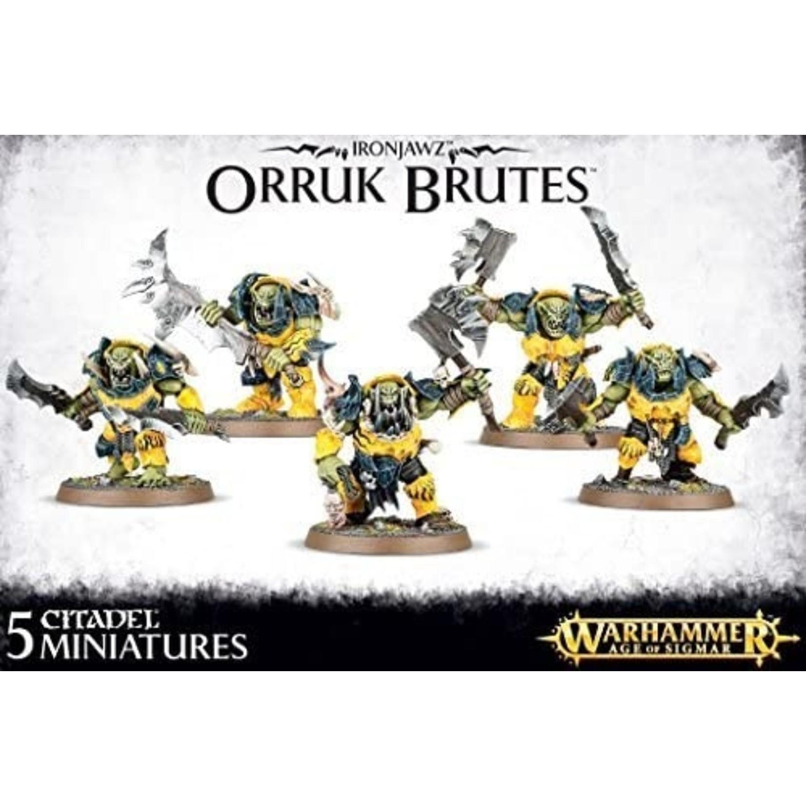 Games Workshop Warhammer Age of Sigmar: Ironjawz - Orruk Brutes