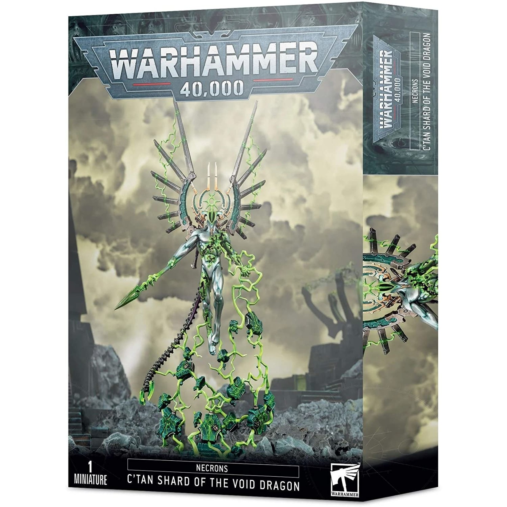 Games Workshop Warhammer 40k: Necrons - C'tan Shard of the Void Dragon