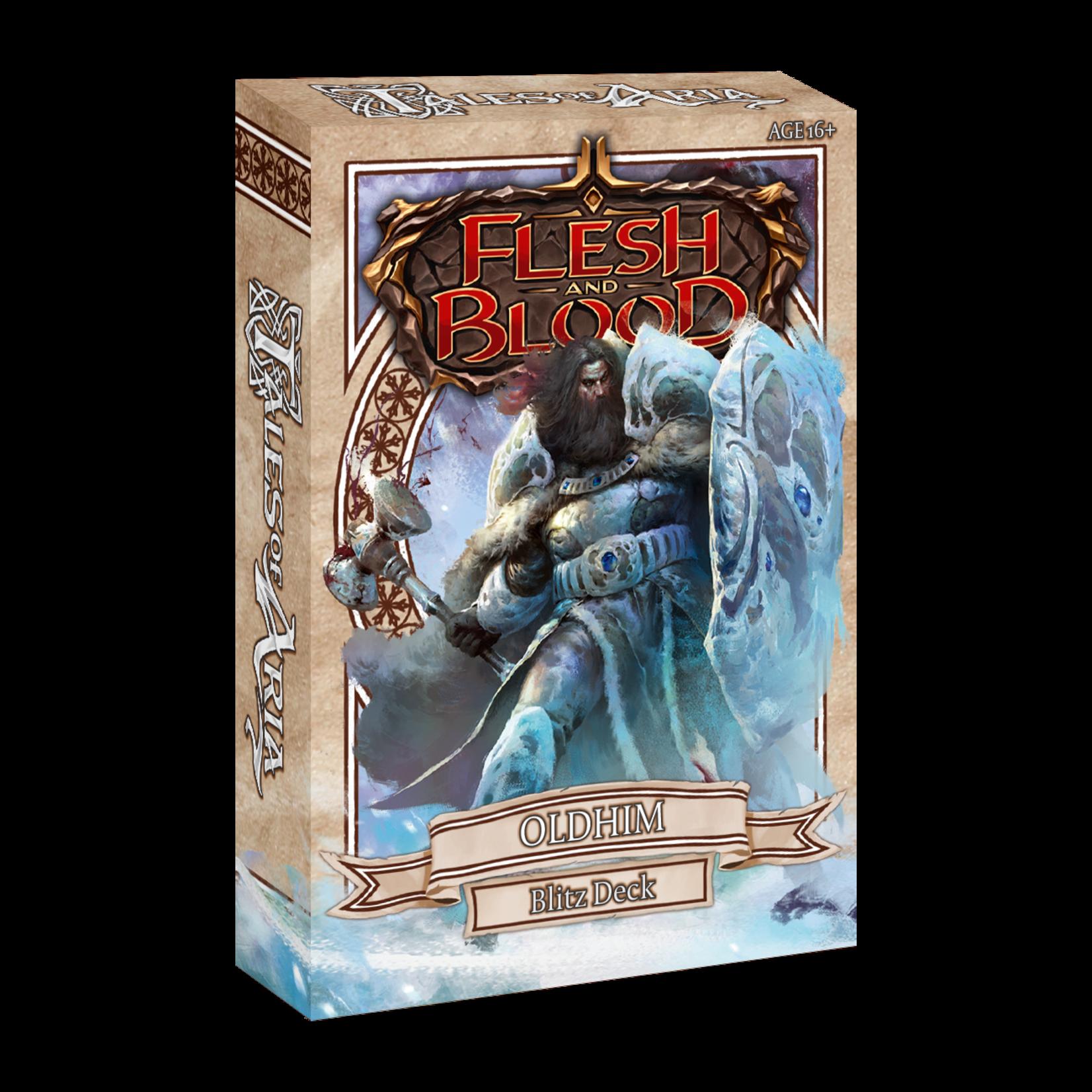 Legend Story Studios Flesh and Blood TCG: Tales of Aria Blitz Deck - Oldhim