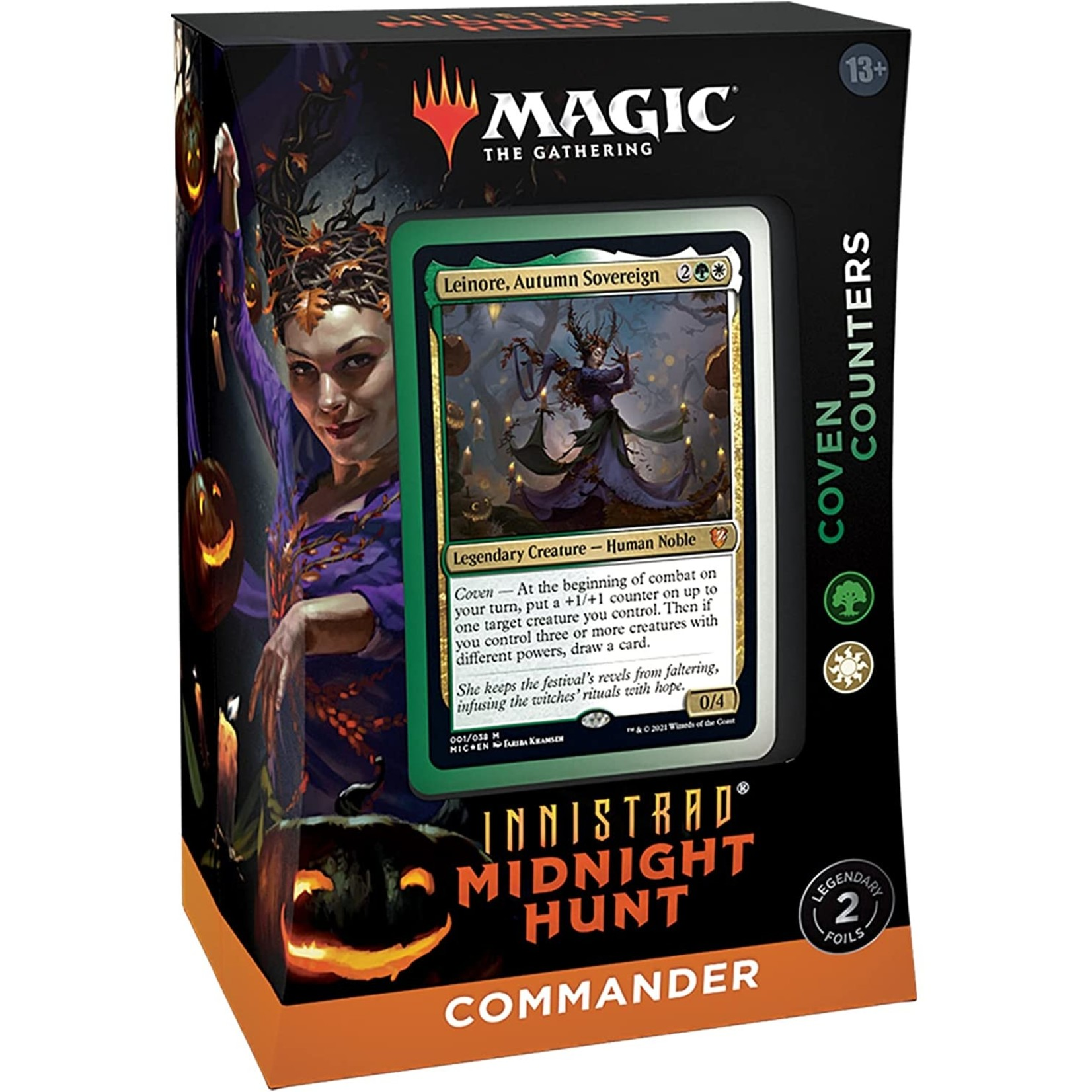 Wizards of the Coast Magic the Gathering: Midnight Hunt Commander Deck  - Coven Counters