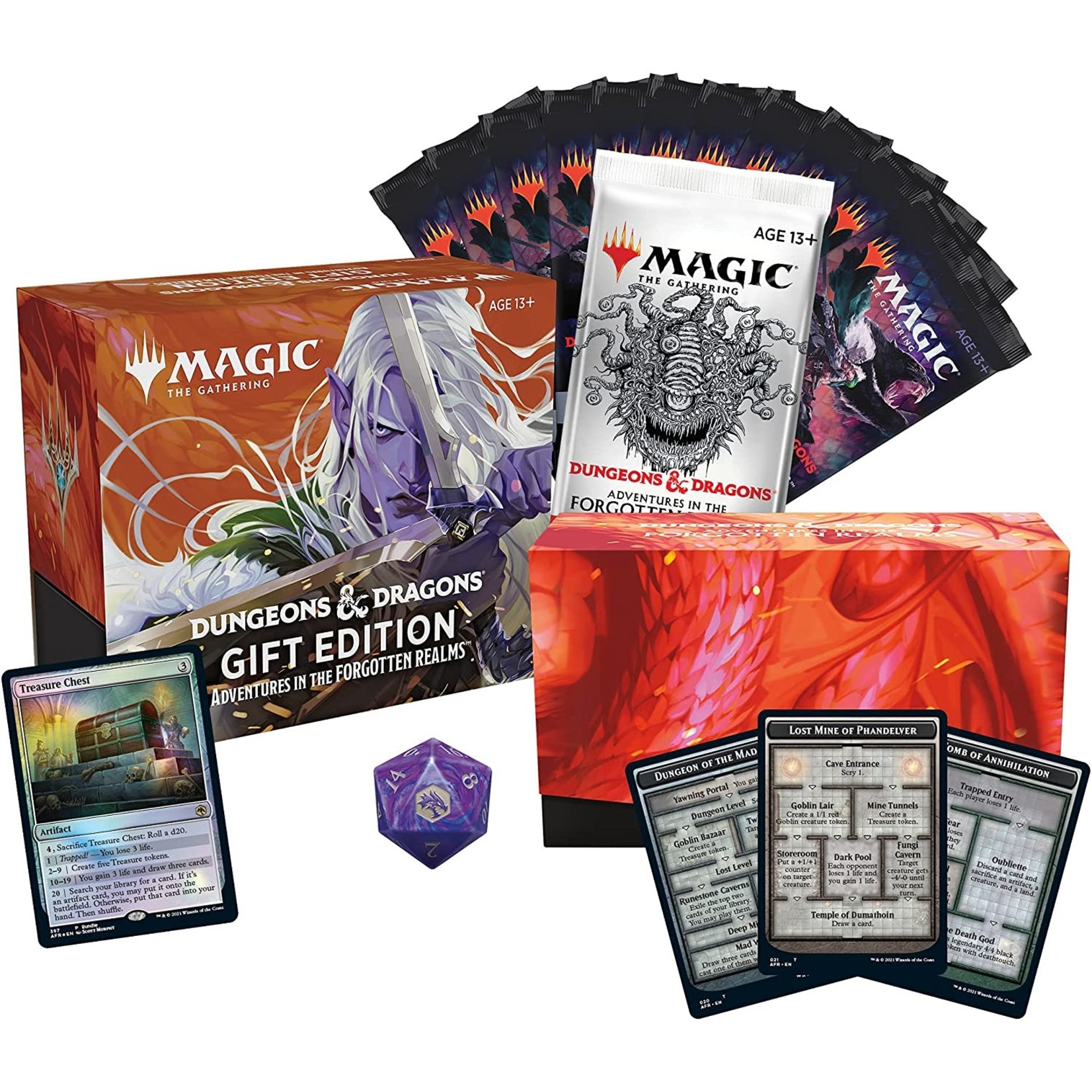 Wizards of the Coast Magic the Gathering: Adventures in the Forgotten Realms - Gift Edition Bundle