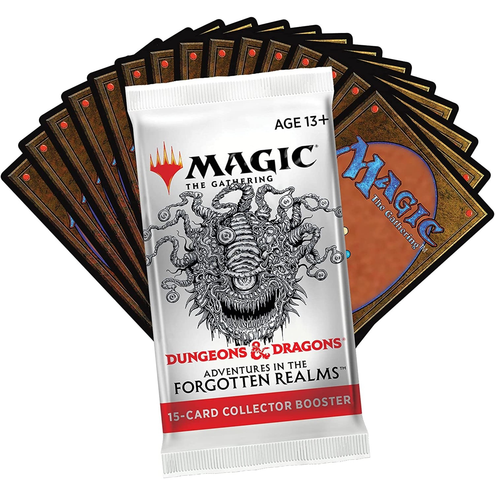 Wizards of the Coast Magic the Gathering: Dungeons & Dragons: Adventures in the Forgotten Realms - Collector Booster Pack