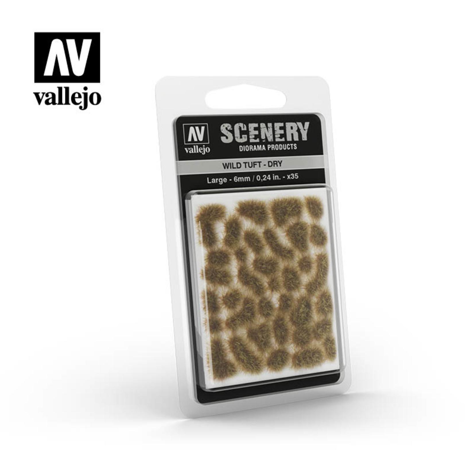 Vallejo Vallejo Scenery: Wild Tuft: Dry: Large