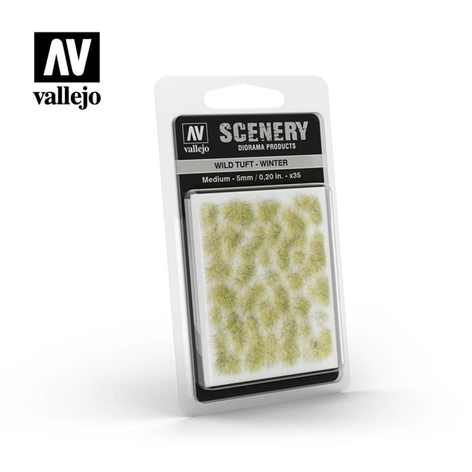 Vallejo Vallejo Scenery: Wild Tuft: Winter: Medium