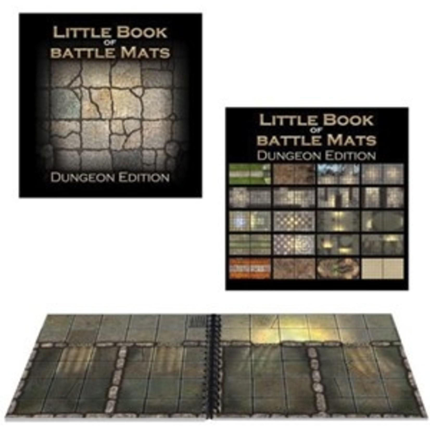 Loke Battlemats Little Book of Battle Mats: Dungeon Edition