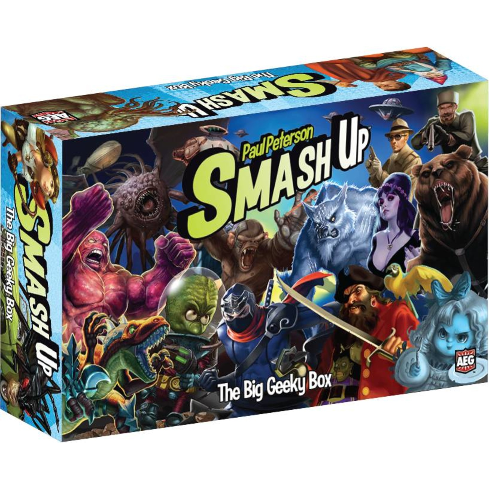 AEG Smash Up! Big Geeky Box Expansion