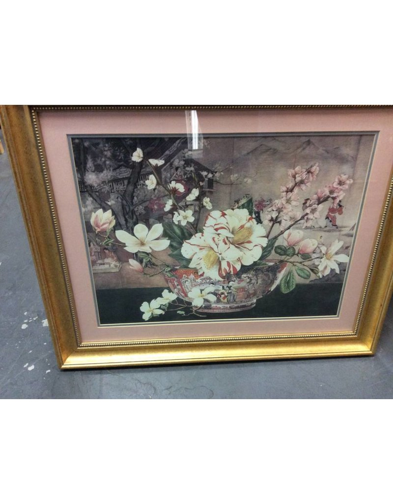 Picture Chinese bowl flowers