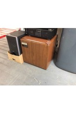 Small fridge / brown Montgomery ward