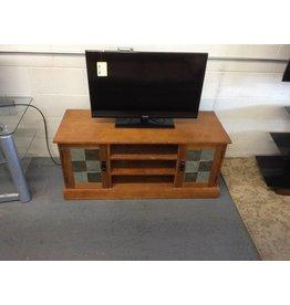 TV stand / 2 doors slate