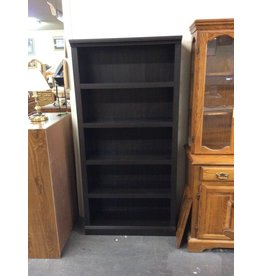 6' bookcase /  4 shelf espresso