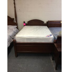Full size bed / cherry - 11