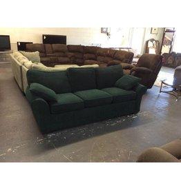 Sofa sleeper /  green tweed - 11