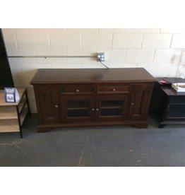 TV stand / cherry 2 drawer, 4 door