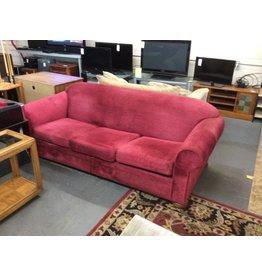Sofa sleeper /  queen red tweed - 12