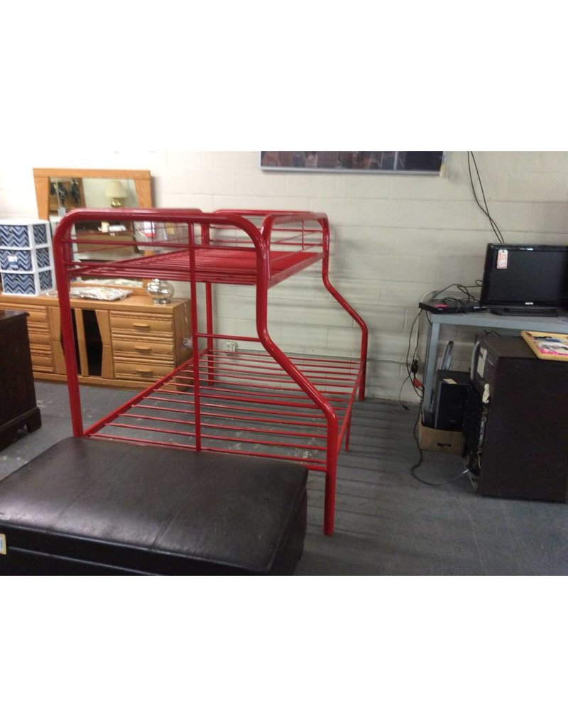 T / F bunk bed  red - 12