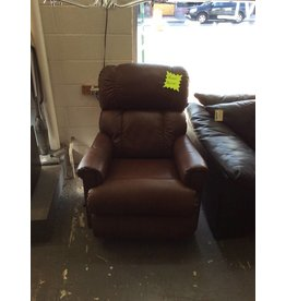 Rocker recliner la-z-boy / dk brown faux