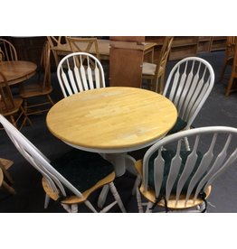 5 pc dinette round padded