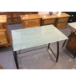 Desk glass metal