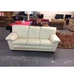 Sofa - cream / leather