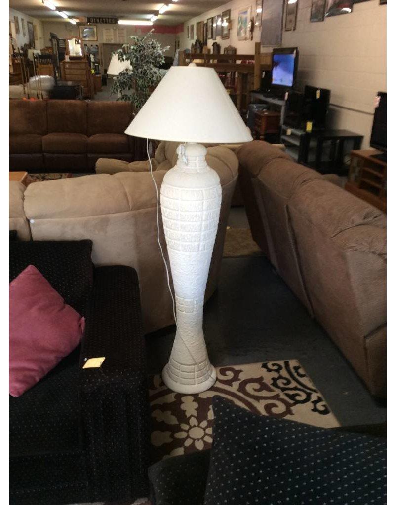 Floor lamp bright white