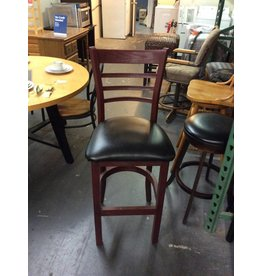 Single barstool /  metal padded