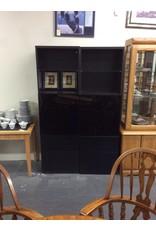 Cabinet / glass n black